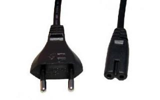 Kab. 220V EU type C > C7 2PIN  1.2m joud