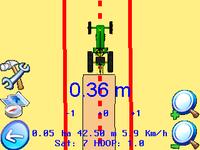 Lygiagretaus vairavimo sistema AgroPilot 7 HD