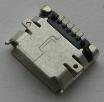 Lizdas micro USB LM25