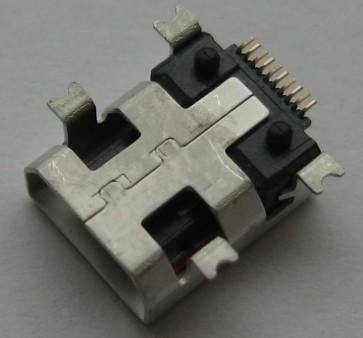Lizdas mini USB LUSB1