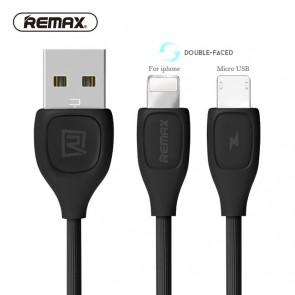 Kab. REMAX Lesu USB > Micro USB/Lightning 2m.